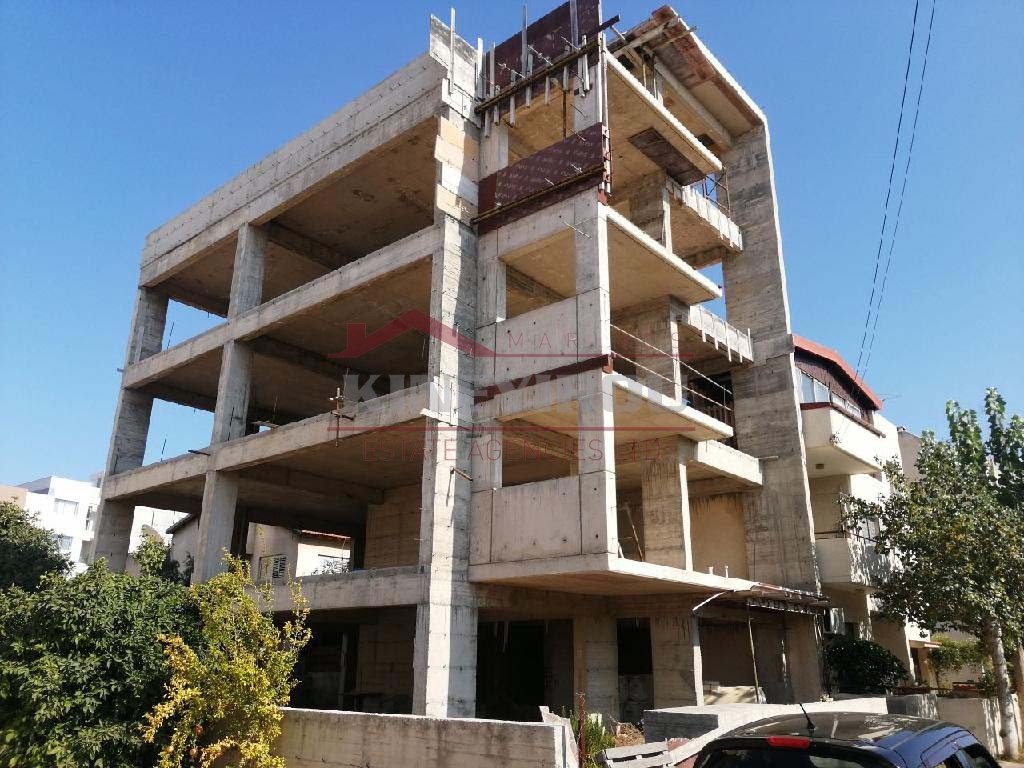Incomplete building in Agios Ioannis, Limassol
