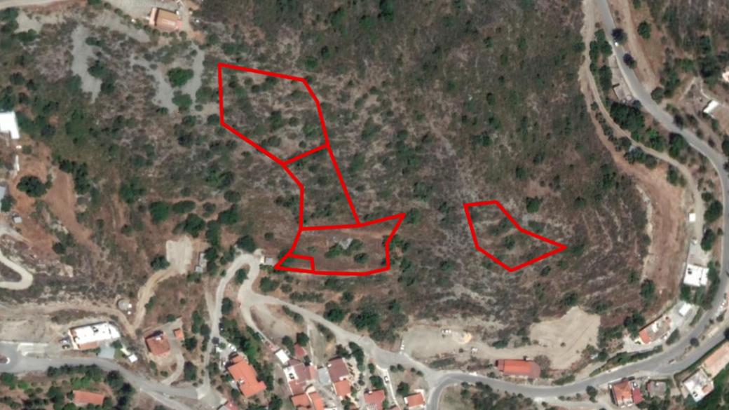 Five fields in Dierona, Limassol
