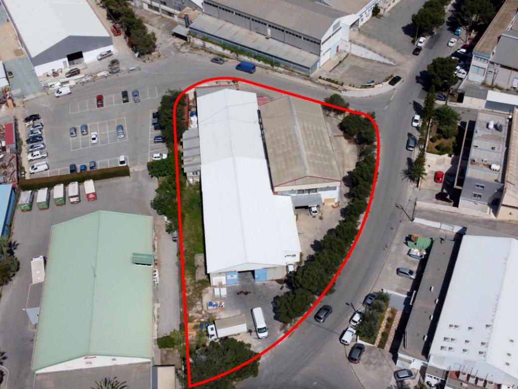 Industrial warehouse in Strovolos, Nicosia